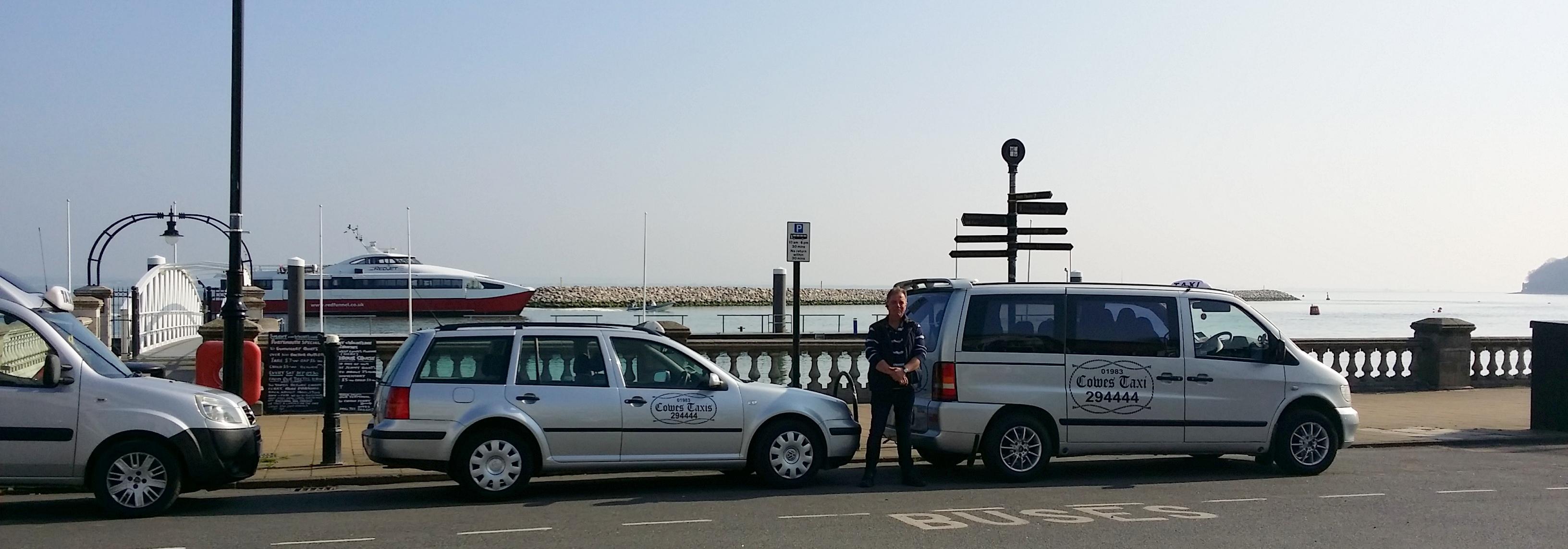 Cowes Taxis car fleet
